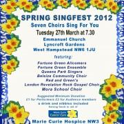Spring Singfest 2