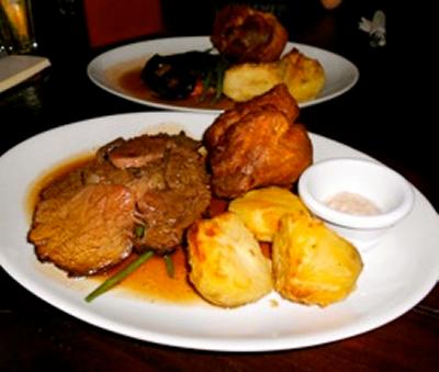 The Westbury's roast beef