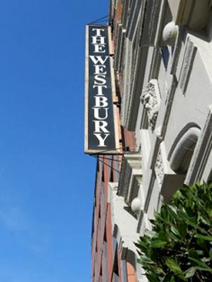 Westbury sign