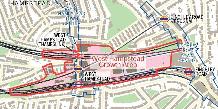 WestHampsteadGrowthAreamap