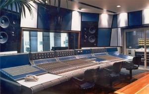 The Focusrite Forte console at Master Rock Studios