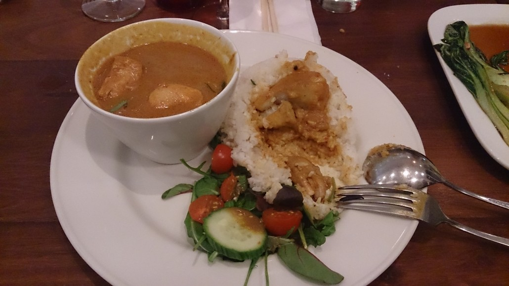 Mamako chicken curry