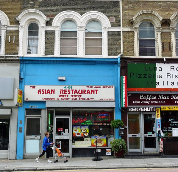43 Kilburn High Road - what was part of Manor Terrace