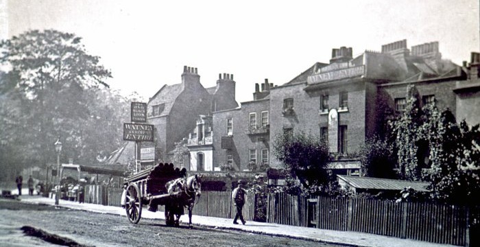 Old Black Lion (Camden Local History Archive)