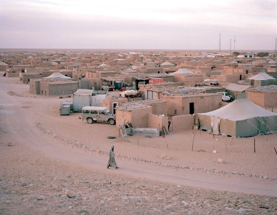 Saharawi refugee camp