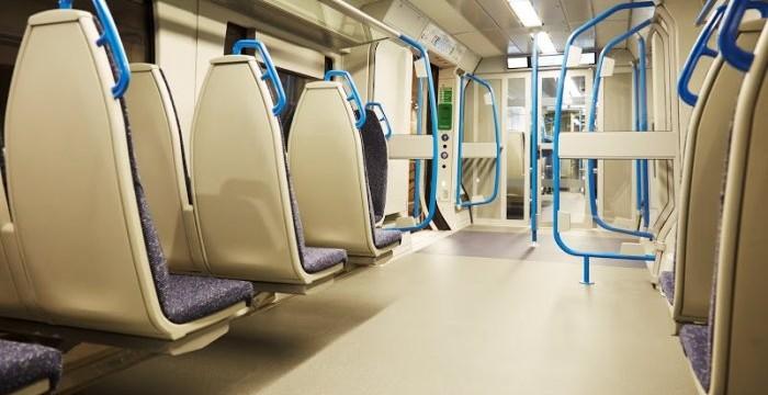 Standard class carriage interior. (Photo courtesy of FCC)