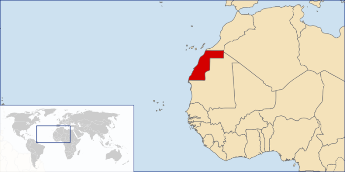 Western Sahara - the disputed territory