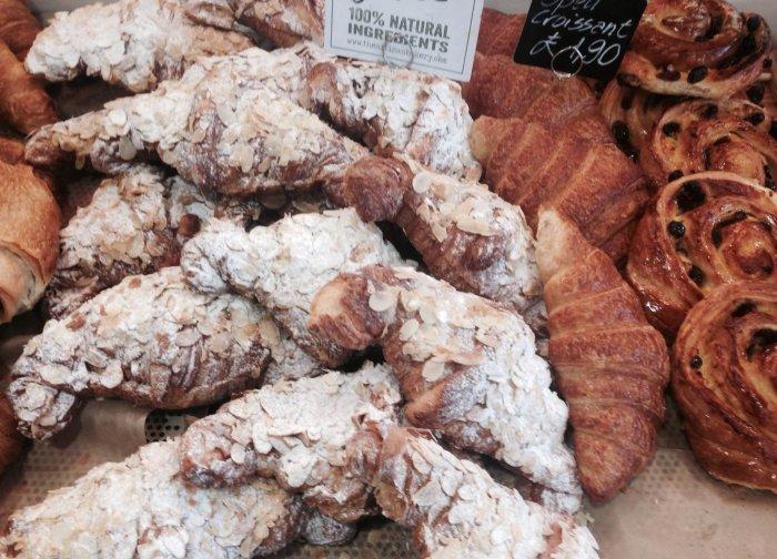 Freshly-baked pastries