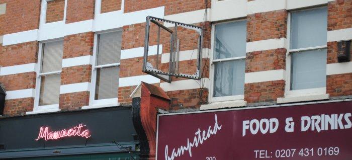 Estate agent board frame only