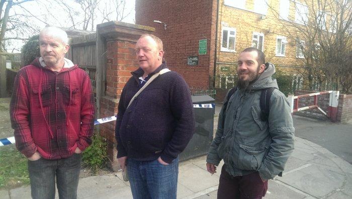 David Strain, Keith Vardy, Graziano Siciliano