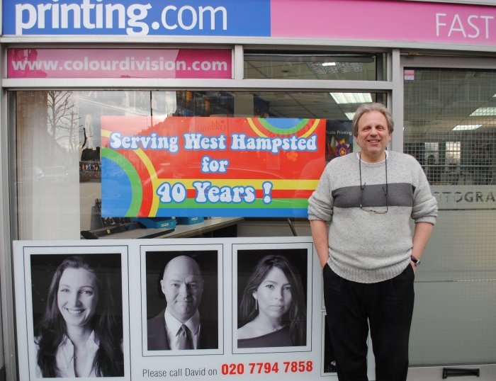 40 years and they still can't spell West Hampstead (never trustr a printer!)
