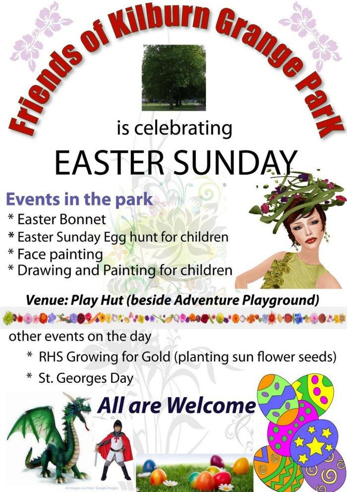 Kilburn Grange Easter