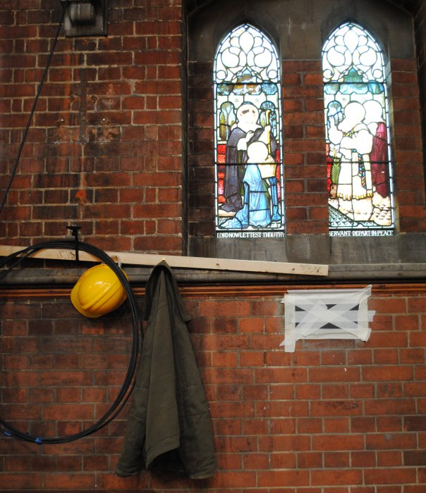 St James Church Sherriff Centre work