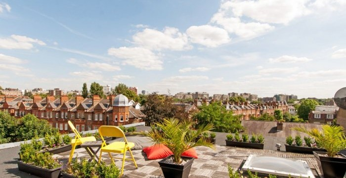 South Hampstead looks lovely from up high - but the issues lurk down below