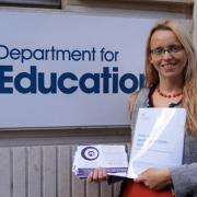 Dr Clare Craig submits the free school application to the DfE
