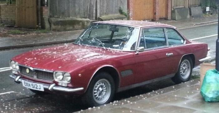 Beautiful old Maserati on Mill Lane, West Hampstead via @Ghoul_of_London