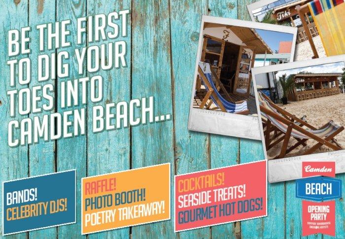 Camden Beach poster