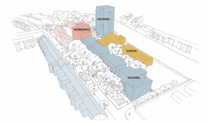 Revised Liddell Road plan with 14-storey tower block