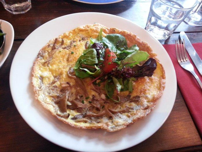 Mill Lane Bistro omelette