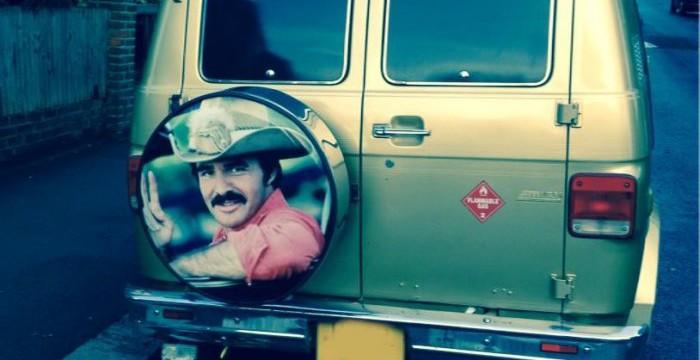 Burt Reynolds in West Hampstead via Simon Borkin