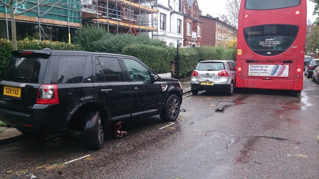 Broadhurst rail replacement bus crash