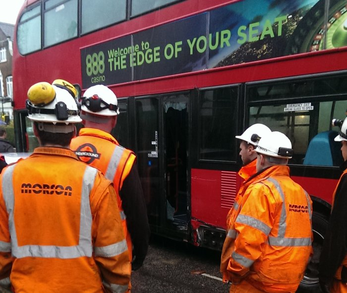 Broadhurst rail replacement bus crash_5