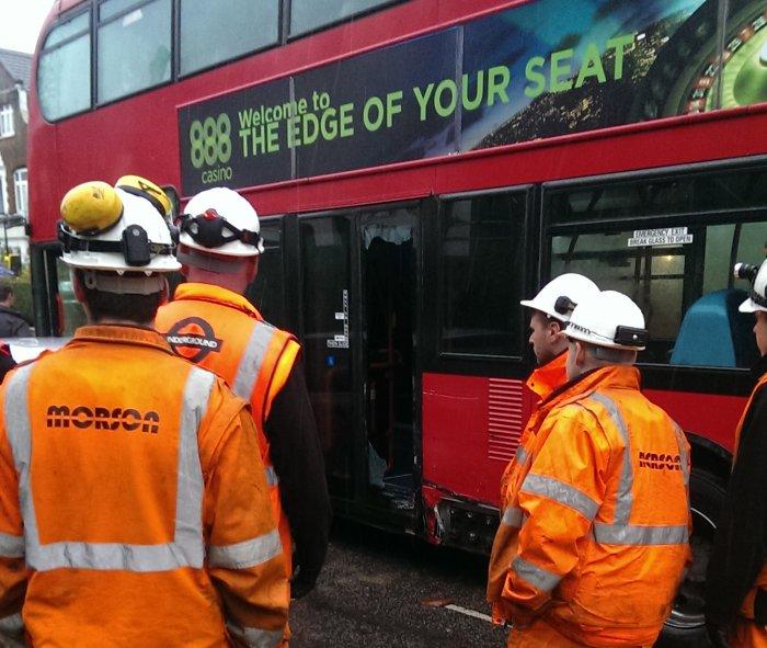 Broadhurst rail replacement bus crash_5