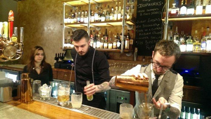 Kilburn Ironworks barmen
