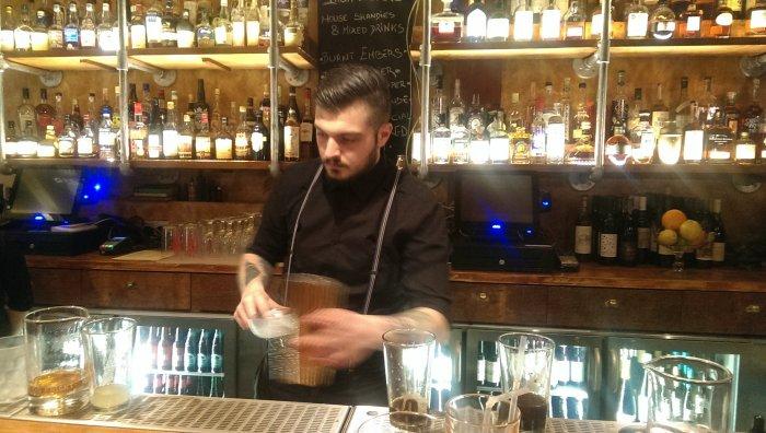 Kilburn Ironworks bar