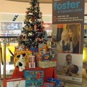 West Hampstead O2 Centre gift tree