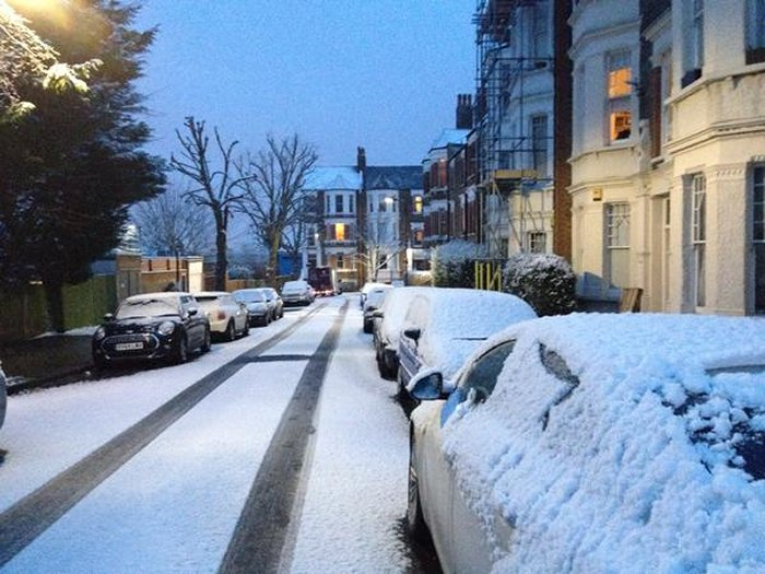 lots of snow on Gondar gardens this morning via James Hodder