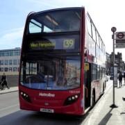 Soon to vanish?  destination - West Hampstead