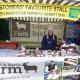 Abi at Tori & Ben's Farm's prize-winning stall