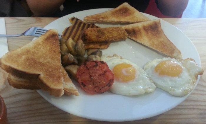 El Rocio Veggie Breakfast