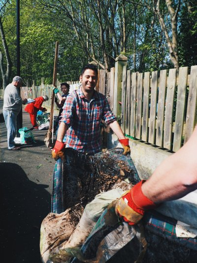 """Phil Rosenberg: """"being knee deep in muck is the best thing I've been able to do"""""""