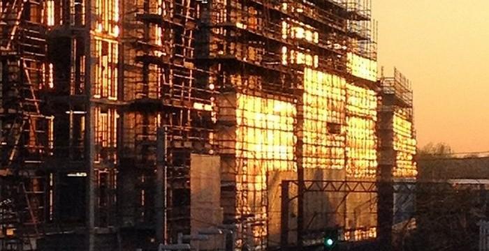 Ballymore construction via @LondonPhoton