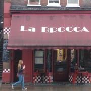 La Brocca open for brunch on the Locke's last day