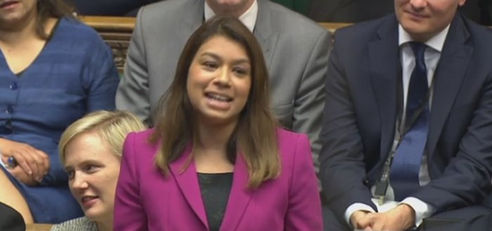 Tulip Siddiq maiden speech