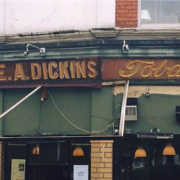 Glorious old signage revealed at David's Deli via Keith Moffitt