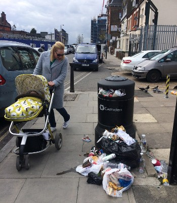Blackburn Road has its own  problems. Will Camden extend the scheme?