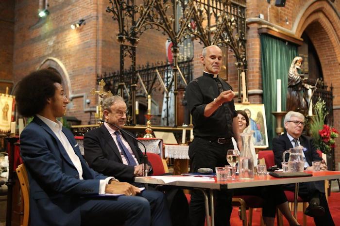 EU Referendum hustings Fr Andrew