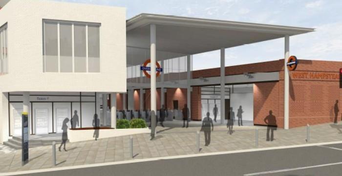 Overground station new entrance. Image via TfL