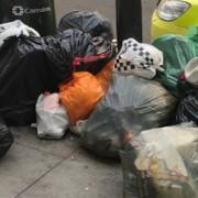 West Hampstead street rubbish