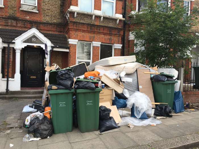 Fortnightly collection of residual waste - a glimpse of the future