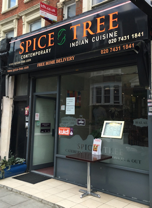 Mill Lane's other curry option