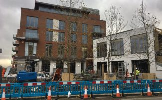 West Hampstead Square - when will it be finished?