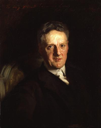 John Seymour Lucas by John Singer Sargent (1905)