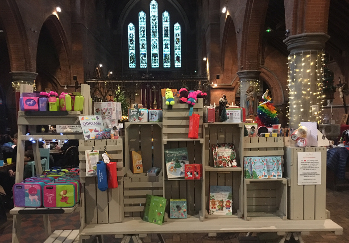 The shop stock - a good source of presents and cards.