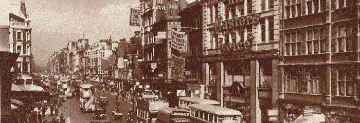 Oxford Street in the 1920s