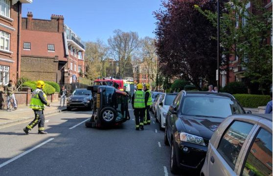 Ooops - car on Mill Lane. Pic thanks to FoFGNW6